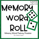 Superkids Memory Word Roll, Units 9-16