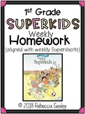 Superkids Reading Homework-1st Grade