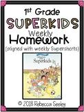 Superkids Reading Program: Homework-1st Grade