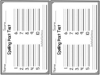 Superkids Reading Series- 1st Grade Spelling Lists