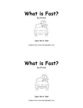 Sight Word Reader - fast