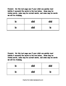 Sight Word Reader - is