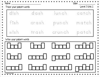 Superkids Spelling Homework:  First Grade, Levels 3 and 4
