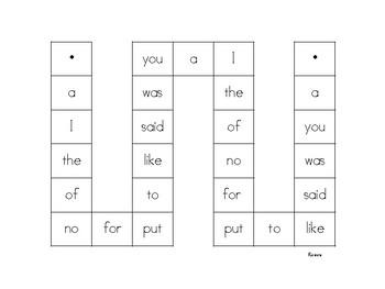 Superkids Spelling Words- Game Boards