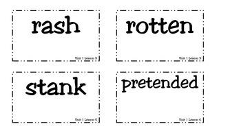 Superkids Unit 1 Story Vocabulary Cards