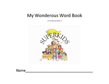 Superkids Vocabulary Book: Semester 2
