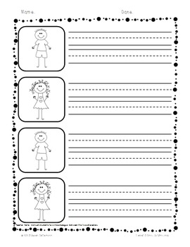 Superkids Writing and Center Materials:  First Grade, Level 3, Unit 6