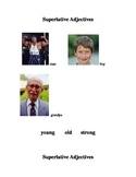 ESL/ELD Superlative Adjective Work Posters