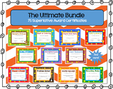 Superlative Award Certificates Bundle