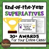 Superlative End of Year Awards