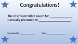 Superlative Certificate