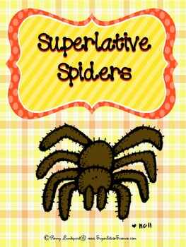 Superlative Spiders {Science and Math Fun}