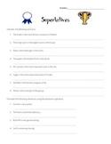 Superlative Translations Worksheet