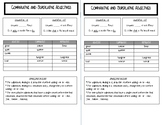 Superlative and Comparative Adjective Interactive Notebook Page