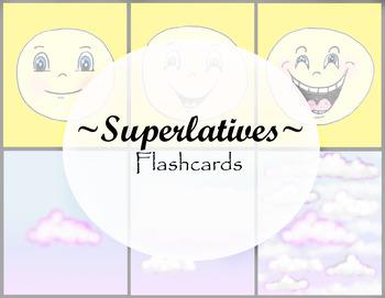 Superlatives Flashcards - Vocabulary