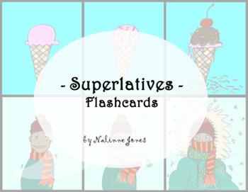 Superlatives Flashcards - Comparatives