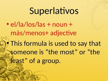 Superlatives Lesson