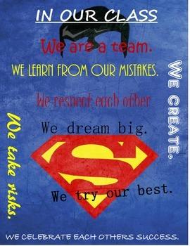 Superman Class Rules