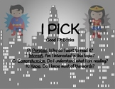 Superman-I PICK good fit book poster