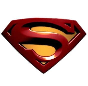 Superman Locker Decals