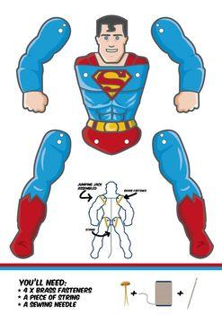Superman Puppet