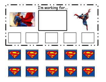 Superman Token Board