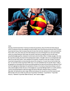 Superman and Jesus