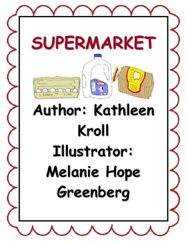 Supermarket Activity Pack!!! EXTRA ACTIVITIES FOR THE WEEK!