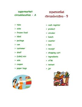 Supermarket Circumlocution FRN