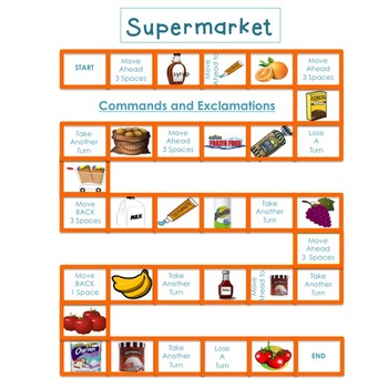 Supermarket: Commands/Exclamations