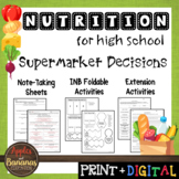 Supermarket Decisions - Interactive Note-Taking Materials