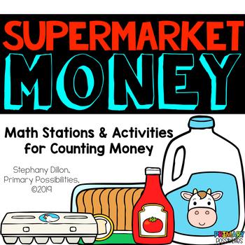 Supermarket Money - Coins and Money