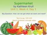 Supermarket PowerPoint Reading Street 3.1.4