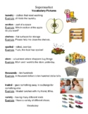 Supermarket Reading Street vocabulary