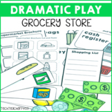 Supermarket Dramatic Role Play Pack signs, posters and activities