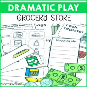 Supermarket Role Play Pack 50 pages of dramatic community fun!