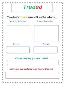 Supermarket- Selection Vocabulary