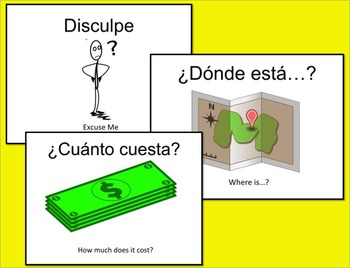 Supermarket Shopping in Spanish PowerPoint: 40 Word Vocabulary Unit