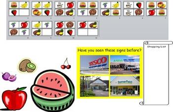 Supermarket Shops Community Local Area FS Reception KS1 Resources Activities IWB