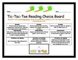 Supermarket Tic-Tac-Toe Choice Board!