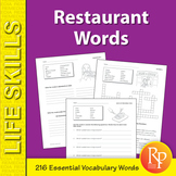 Restaurant Words