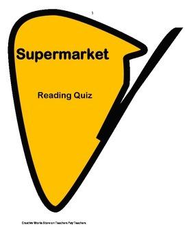 Supermarket - 3rd Grade Reading Street ( reading comprehen