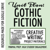 High School Creative Writing: Halloween Narrative Project (Prompt, Rubric, More)