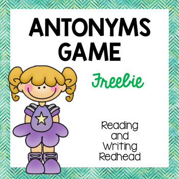 Superstar Antonyms - an I Have, Who Has Antonym Game