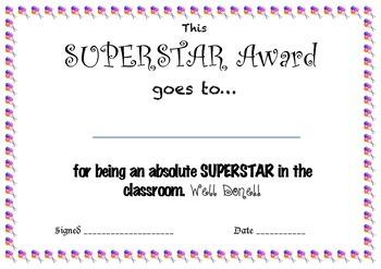 Superstar Award