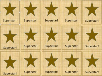 Superstar Brag Tags