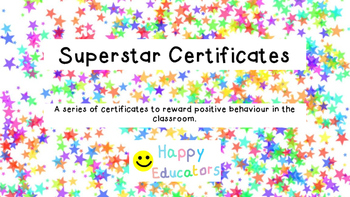 Superstar Certificates