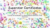 Superstar Certificates