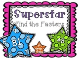 Superstar Find the Factors