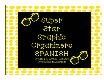Superstar Graphic Organizers (Fiction and Non-Fiction Texts) SPANISH